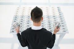 Tabela do dinheiro Foto de Stock Royalty Free