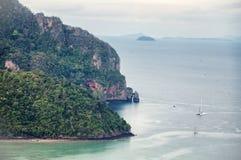 Opinião tropica do mar Imagens de Stock