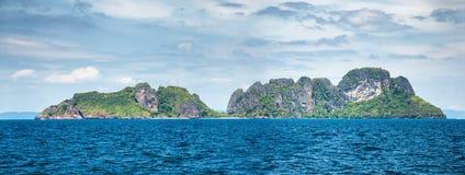 Opinião tropica do mar Fotos de Stock
