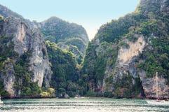 Opinião tropica do mar Fotografia de Stock Royalty Free