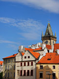 Opinião velha da cidade de Praga Imagem de Stock