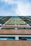 Opinião vertical Choi Hung Estate Imagens de Stock