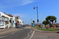 Opinião Walmer Kent Reino Unido da rua foto de stock