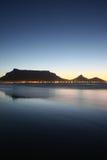 Opinión 1 de Ciudad del Cabo Foto de archivo