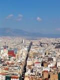 Opinión 12 de Atenas Fotografía de archivo