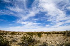 Opinión 4 del desierto Foto de archivo