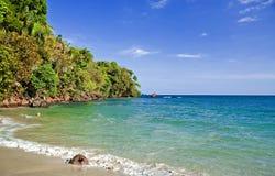 Opinión 6 de la playa Fotografía de archivo libre de regalías