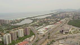 Opinión aérea Barra Region almacen de metraje de vídeo
