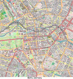 Opinión aérea de Berlin Germany Europe hola res ilustración del vector