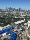 Opinión aérea de Dallas Fair Imagen de archivo libre de regalías