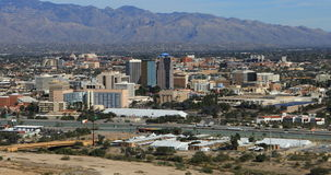 opinión aérea de 4K UltraHD de Tucson, Arizona