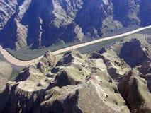 Opinión aérea de la barranca magnífica Imagenes de archivo