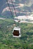 Opinión aérea de la tranvía Foto de archivo libre de regalías