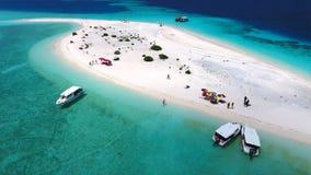 Opinión aérea de Maldivas Foto de archivo
