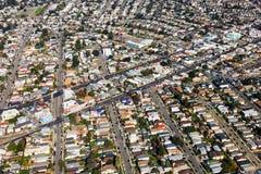 Opinión aérea de Oakland fotografía de archivo