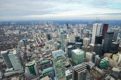 Opinión aérea de Toronto Fotografía de archivo libre de regalías