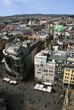 Opinión aérea de Viena imagen de archivo
