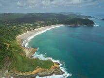 Opinión aérea del destino del viaje de Nicaragua Imagenes de archivo