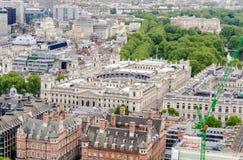 Opinión aérea el HM Revenue y aduanas que construyen en Londres Imágenes de archivo libres de regalías