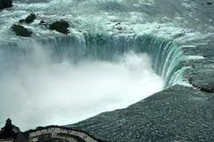 Opinión aérea el las caídas de Niagra Fotos de archivo libres de regalías