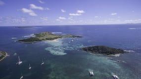 Opinión aérea el santo Martin Beach Imagen de archivo libre de regalías