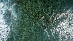 Opinión aérea el santo Martin Beach Foto de archivo