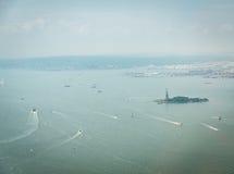 Opinión aérea sobre bahía superior Imagenes de archivo