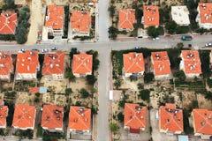 Opinión aérea sobre ciudad Fotografía de archivo libre de regalías