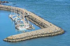 Opinión aérea sobre el puerto de San Francisco Imagen de archivo libre de regalías
