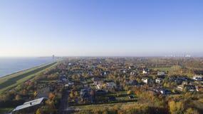 Opinión aérea sobre Overgooi y el Gooilake foto de archivo libre de regalías