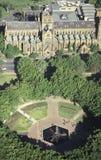 Opinión aérea Sydney Cathedral fotos de archivo libres de regalías