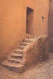 Opinión Ait Benhaddou Kasbah, Ait Ben Haddou, Ouarzazate, Morocc Foto de archivo