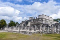 Templo de los guerreros Imágenes de archivo libres de regalías
