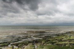 Opinión Ambleteuse del mar Foto de archivo libre de regalías