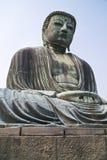 Opinión amplia de Daibutsu Imagen de archivo libre de regalías