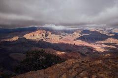Opinión amplia de Grand Canyon Imágenes de archivo libres de regalías