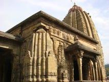 Opinión angulosa del templo de Baijnath Foto de archivo