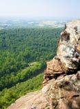 Opinión apalache de la roca Imagenes de archivo