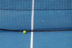 Opinión artificial del campo de tenis del césped Fotografía de archivo