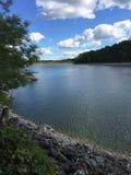 Opinión asombrosa del lago Imagen de archivo