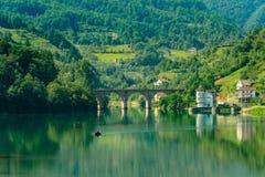 Opinión asombrosa del lago del paisaje Imagenes de archivo