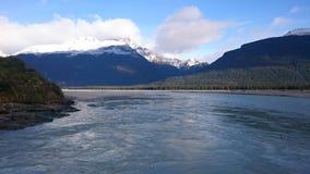 Opinión asombrosa del río del dardo Imagen de archivo