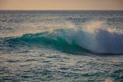 Opinión azul del mar de la ola oceánica imagen de archivo