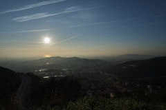 Opinión Barcelona de la mañana Fotos de archivo