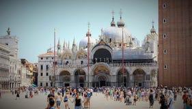Opinión Basilica Di San Marco Venecia fotos de archivo