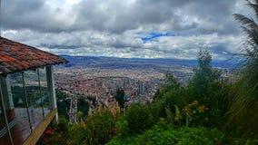 Opinión Bogotá Colombia del cielo fotografía de archivo libre de regalías