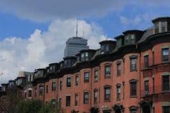 Opinión Boston de la ciudad Foto de archivo libre de regalías