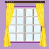 Opinión casera de la ventana Fotos de archivo