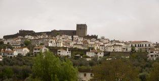 Opinión Castelo de Vide Portugal Imagenes de archivo