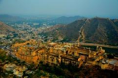 Opinión ciry de Jaipur Imágenes de archivo libres de regalías